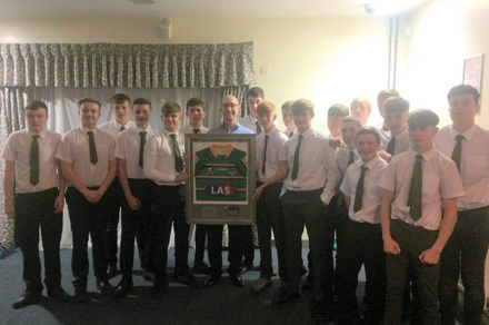 LAS Renew Partnership With Local Under 15's Rugby League Team